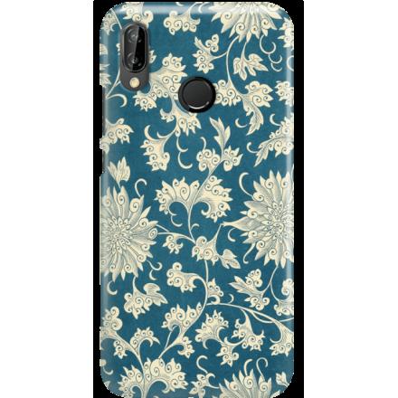 Etui na telefon Huawei P20 Lite Kwiaty Ornamenty