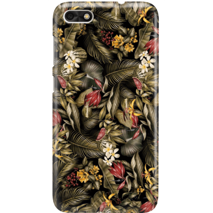 Etui na telefon Huawei P9 Lite Mini Egzotyczne Rośliny