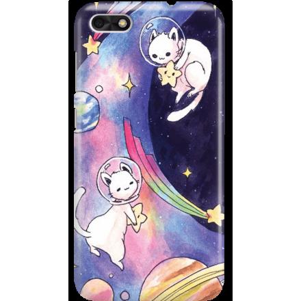 Etui na telefon Huawei P9 Lite Mini Kosmiczne Koty